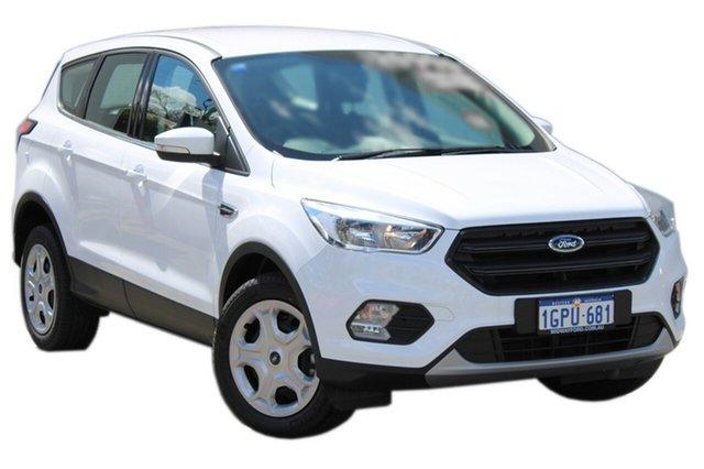 Demo Ford Escape ZG 2018.00MY Ambiente 2WD, 2018 Ford Escape ZG 2018.00MY Ambiente 2WD Frozen White 6 Speed Sports Automatic Wagon
