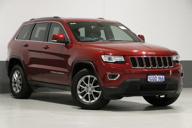 Used Jeep Grand Cherokee WK MY15 Laredo (4x4), 2015 Jeep Grand Cherokee WK MY15 Laredo (4x4) Red 8 Speed Automatic Wagon