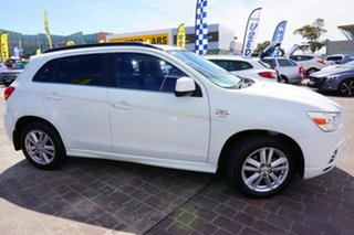 2010 Mitsubishi ASX XA MY11 Aspire White 6 Speed Manual Wagon