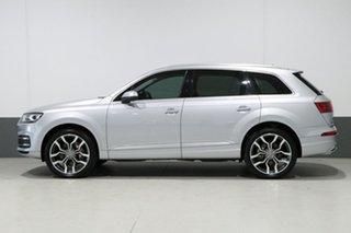 2016 Audi Q7 4M MY17 3.0 TDI Quattro (160KW) Silver 8 Speed Automatic Tiptronic Wagon