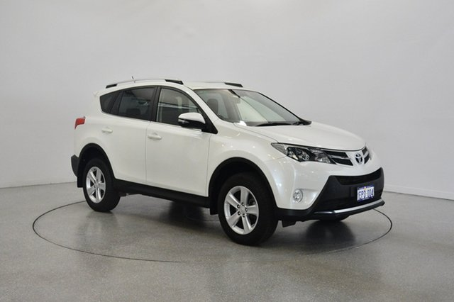 Used Toyota RAV4 ASA44R GXL AWD, 2013 Toyota RAV4 ASA44R GXL AWD White 6 Speed Sports Automatic Wagon