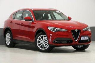 2018 Alfa Romeo Stelvio 949 MY18 Red 8 Speed Automatic Wagon.