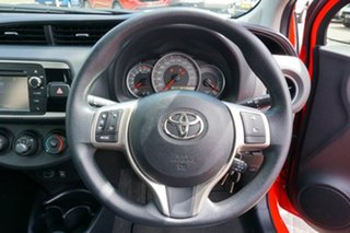 2015 Toyota Yaris NCP130R Ascent Red 5 Speed Manual Hatchback