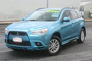 2012 Mitsubishi ASX XA MY12 Platinum 2WD Blue 5 Speed Manual Wagon