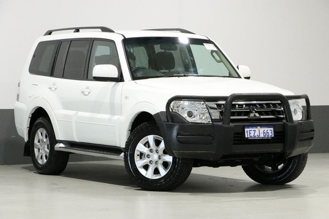 Used Mitsubishi Pajero NX MY16 GLX LWB (4x4), 2016 Mitsubishi Pajero NX MY16 GLX LWB (4x4) White 5 Speed Auto Sports Mode Wagon