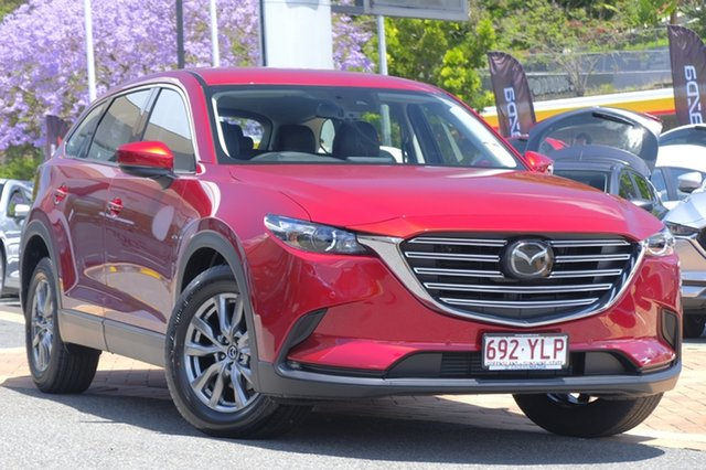 Demo Mazda CX-9 TC Touring SKYACTIV-Drive i-ACTIV AWD, 2018 Mazda CX-9 TC Touring SKYACTIV-Drive i-ACTIV AWD Soul Red Crystal 6 Speed Sports Automatic