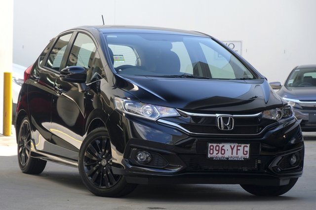 Demo Honda Jazz GF MY19 +Sport, 2018 Honda Jazz GF MY19 +Sport Crystal Black 1 Speed Constant Variable Hatchback