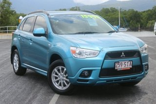 2012 Mitsubishi ASX XA MY12 Platinum 2WD Blue 5 Speed Manual Wagon.