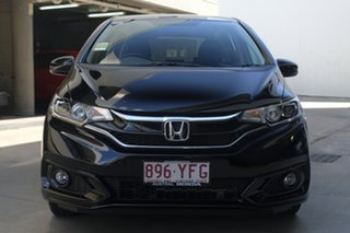 2018 Honda Jazz GF MY19 +Sport Crystal Black 1 Speed Constant Variable Hatchback