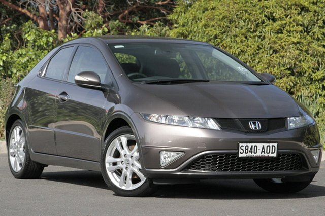 Used Honda Civic 8th Gen MY11 SI, 2011 Honda Civic 8th Gen MY11 SI Urban Titanium 5 Speed Automatic Hatchback