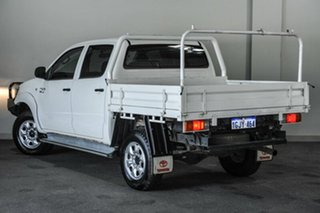 2012 Toyota Hilux GGN25R MY12 SR Double Cab White 5 Speed Automatic Utility