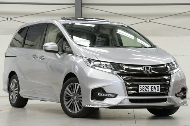 Demo Honda Odyssey RC MY18 VTi-L, 2018 Honda Odyssey RC MY18 VTi-L Platinum 7 Speed Constant Variable Wagon
