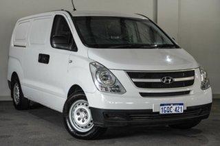 2013 Hyundai iLOAD TQ2-V MY13 White 5 Speed Automatic Van.