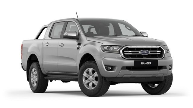 New Ford Ranger PX MkIII 2019.00MY XLT Pick-up Double Cab, 2018 Ford Ranger PX MkIII 2019.00MY XLT Pick-up Double Cab Ingot Silver 6 Speed Sports Automatic