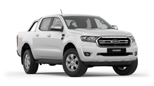 New Ford Ranger PX MkIII 2019.00MY XLT Pick-up Double Cab, 2018 Ford Ranger PX MkIII 2019.00MY XLT Pick-up Double Cab Frozen White 10 Speed Sports Automatic