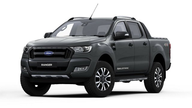 New Ford Ranger PX MkII 2018.00MY Wildtrak Double Cab, 2018 Ford Ranger PX MkII 2018.00MY Wildtrak Double Cab Magnetic 6 Speed Sports Automatic Utility
