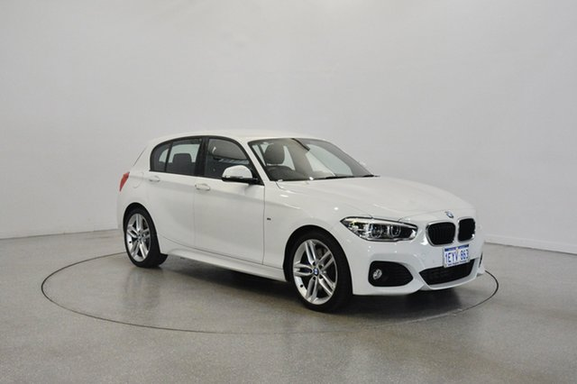 Used BMW 125i F20 LCI M Sport, 2016 BMW 125i F20 LCI M Sport White 8 Speed Sports Automatic Hatchback