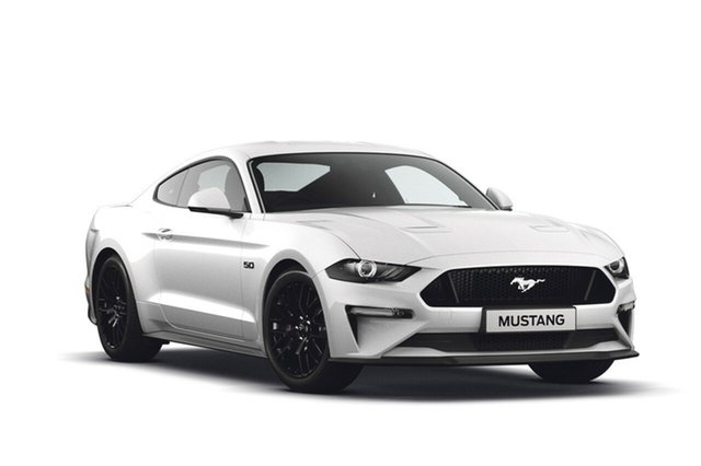 New Ford Mustang FN 2018MY GT Fastback SelectShift, 2018 Ford Mustang FN 2018MY GT Fastback SelectShift Oxford White 10 Speed Sports Automatic Fastback