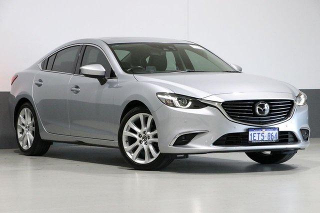 Used Mazda 6 6C MY15 Atenza, 2015 Mazda 6 6C MY15 Atenza Silver 6 Speed Automatic Sedan