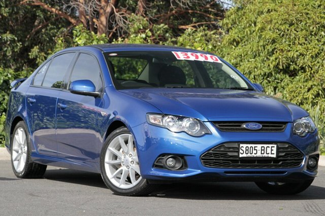 Used Ford Falcon FG MkII XR6, 2014 Ford Falcon FG MkII XR6 Kinetic Blue 6 Speed Sports Automatic Sedan