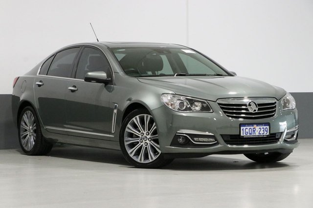 Used Holden Calais VF V, 2014 Holden Calais VF V Prussian Steel 6 Speed Automatic Sedan