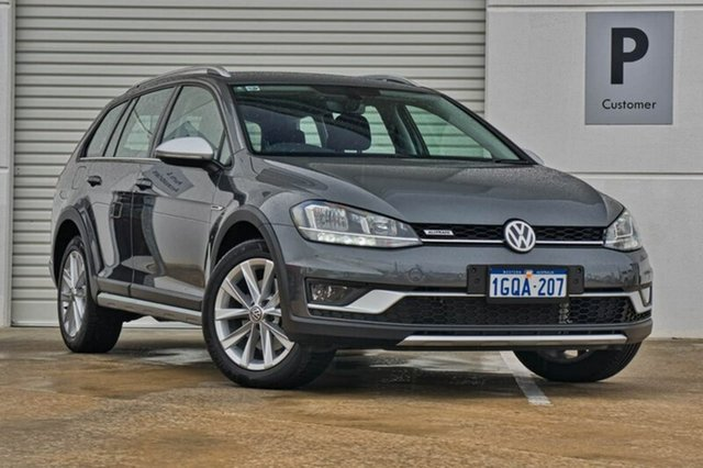 Used Volkswagen Golf 7.5 MY18 Alltrack DSG 4MOTION 132TSI, 2018 Volkswagen Golf 7.5 MY18 Alltrack DSG 4MOTION 132TSI Grey 6 Speed Sports Automatic Dual Clutch