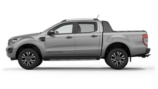 2018 Ford Ranger PX MkIII 2019.00MY Wildtrak Pick-up Double Cab Ingot Silver 6 Speed.