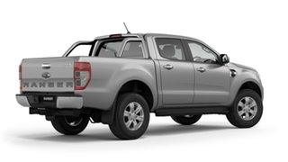 2018 Ford Ranger PX MkIII 2019.00MY XLT Pick-up Double Cab Ingot Silver 6 Speed Sports Automatic.