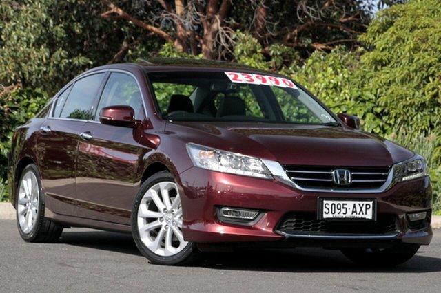 Used Honda Accord 9th Gen MY13 VTi-L, 2013 Honda Accord 9th Gen MY13 VTi-L Carnelian Red 5 Speed Sports Automatic Sedan