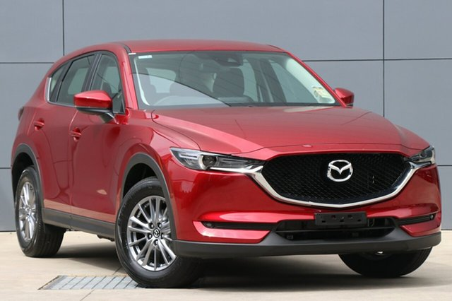 New Mazda CX-5 KF4WLA Maxx SKYACTIV-Drive i-ACTIV AWD Sport, 2018 Mazda CX-5 KF4WLA Maxx SKYACTIV-Drive i-ACTIV AWD Sport Soul Red Crystal 6 Speed