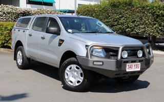 2011 Ford Ranger PX XL Double Cab Silver 6 Speed Manual Utility.