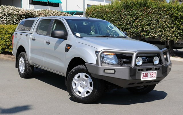 Used Ford Ranger PX XL Double Cab, 2011 Ford Ranger PX XL Double Cab Silver 6 Speed Manual Utility