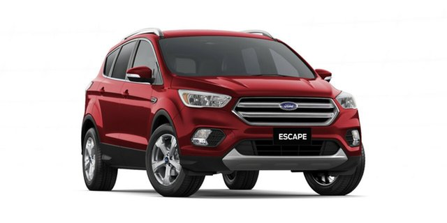New Ford Escape ZG 2018.75MY Trend 2WD, 2018 Ford Escape ZG 2018.75MY Trend 2WD Ruby Red 6 Speed Sports Automatic Wagon