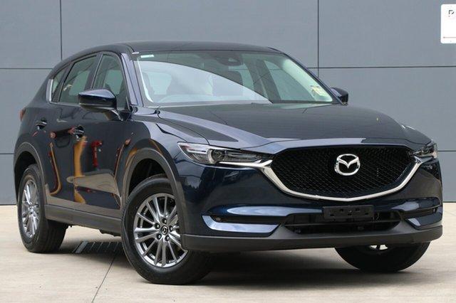 New Mazda CX-5 KF4WLA Maxx SKYACTIV-Drive i-ACTIV AWD Sport, 2018 Mazda CX-5 KF4WLA Maxx SKYACTIV-Drive i-ACTIV AWD Sport Deep Crystal Blue 6 Speed