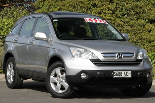 Used Honda CR-V RE MY2007 Sport 4WD, 2009 Honda CR-V RE MY2007 Sport 4WD Alabaster Silver 5 Speed Automatic Wagon