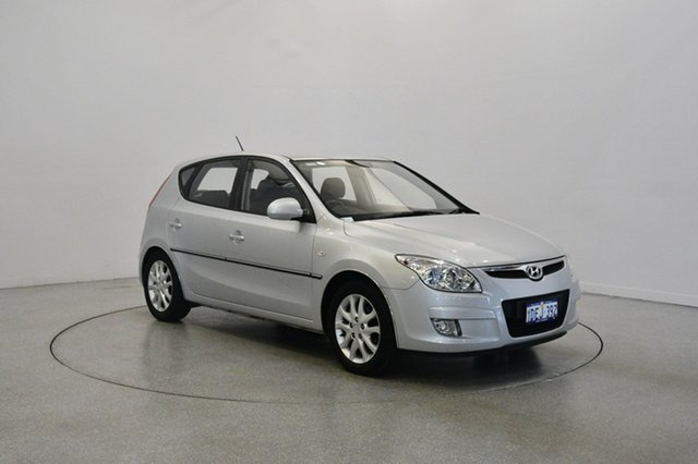 Used Hyundai i30 FD MY09 SLX, 2009 Hyundai i30 FD MY09 SLX Continental Silver 4 Speed Automatic Hatchback