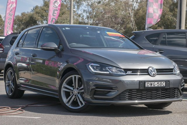 Used Volkswagen Golf 7.5 MY18 110TSI DSG Highline, 2018 Volkswagen Golf 7.5 MY18 110TSI DSG Highline Grey 7 Speed Sports Automatic Dual Clutch