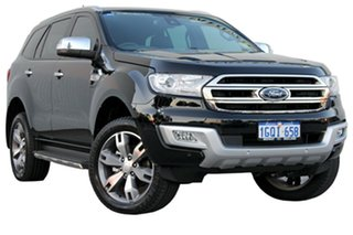 2018 Ford Everest UA 2018.00MY Titanium Black 6 Speed Sports Automatic Wagon.