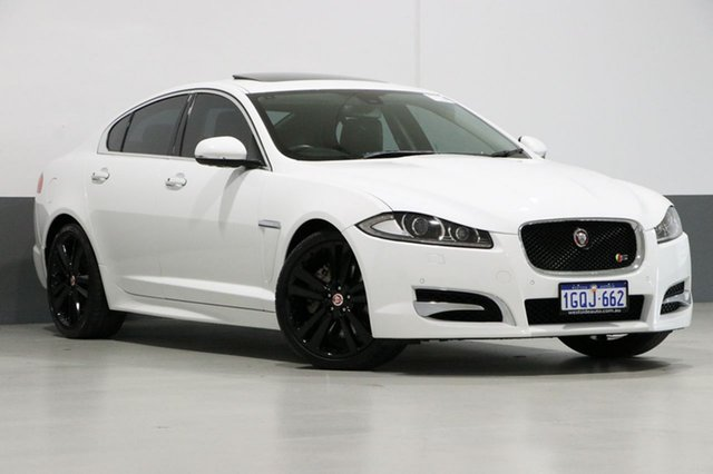 Used Jaguar XF MY15 3.0D S Luxury, 2015 Jaguar XF MY15 3.0D S Luxury White 8 Speed Automatic Sedan