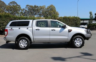 2011 Ford Ranger PX XL Double Cab Silver 6 Speed Manual Utility