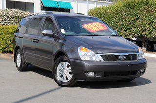 2014 Kia Grand Carnival VQ MY14 SI Grey 6 Speed Sports Automatic Wagon.
