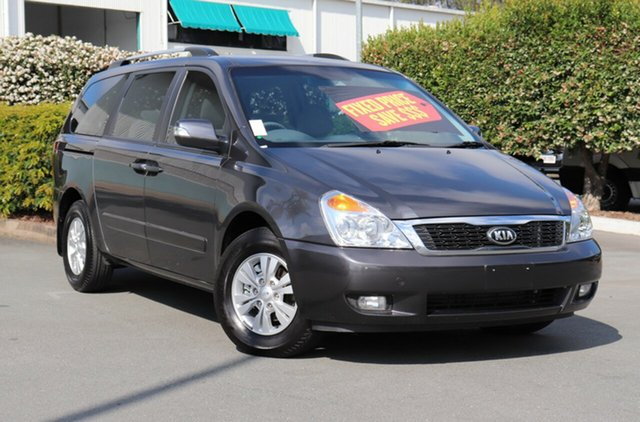 Used Kia Grand Carnival VQ MY14 SI, 2014 Kia Grand Carnival VQ MY14 SI Grey 6 Speed Sports Automatic Wagon