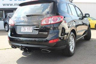 2009 Hyundai Santa Fe CM MY09 Elite Black 5 Speed Sports Automatic Wagon