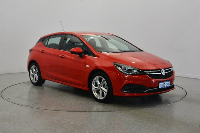 Used Holden Astra BK MY18.5 RS, 2018 Holden Astra BK MY18.5 RS Red 6 Speed Sports Automatic Hatchback
