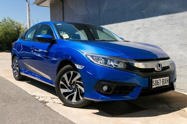 Demo Honda Civic 10th Gen MY18 VTi-S, 2018 Honda Civic 10th Gen MY18 VTi-S Brilliant Sporty Blue 1 Speed Constant Variable Sedan