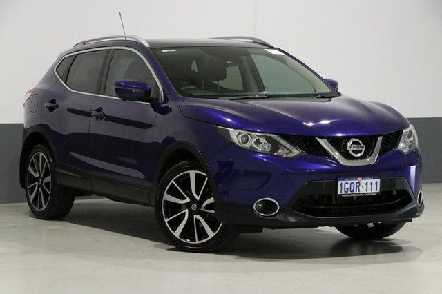 Used Nissan Qashqai J11 TL, 2015 Nissan Qashqai J11 TL Blue Continuous Variable Wagon