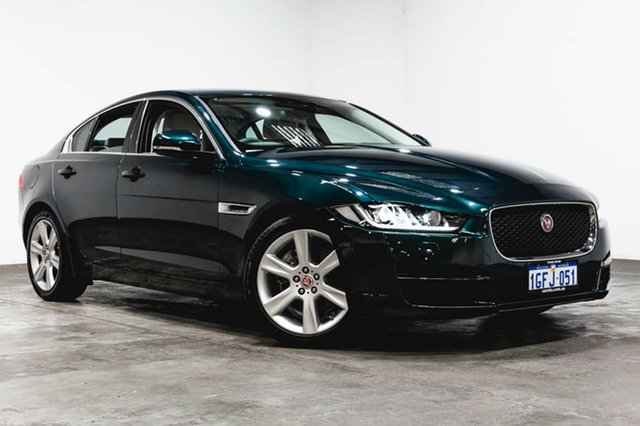 Used Jaguar XE X760 MY16 20D Prestige, 2016 Jaguar XE X760 MY16 20D Prestige Green 8 Speed Sports Automatic Sedan