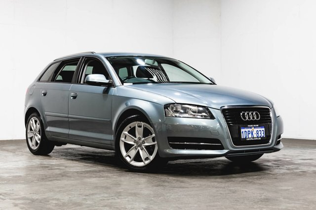 Used Audi A3 8P MY11 TDI Sportback S tronic Ambition, 2011 Audi A3 8P MY11 TDI Sportback S tronic Ambition Grey 6 Speed Sports Automatic Dual Clutch