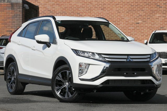 New Mitsubishi Eclipse Cross YA MY18 ES (2WD), 2018 Mitsubishi Eclipse Cross YA MY18 ES (2WD) White Continuous Variable Wagon