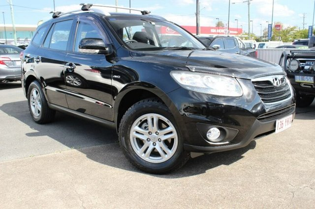 Used Hyundai Santa Fe CM MY09 Elite, 2009 Hyundai Santa Fe CM MY09 Elite Black 5 Speed Sports Automatic Wagon